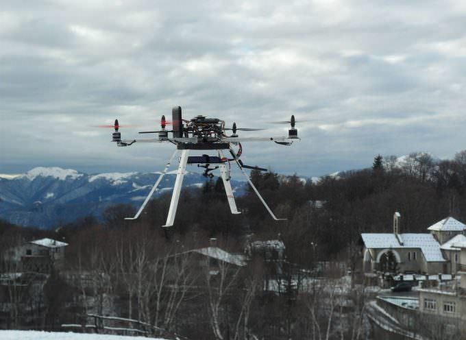 Tutto sui droni, a Volandia, domenica 6 aprile dimostrazione teorico-pratica