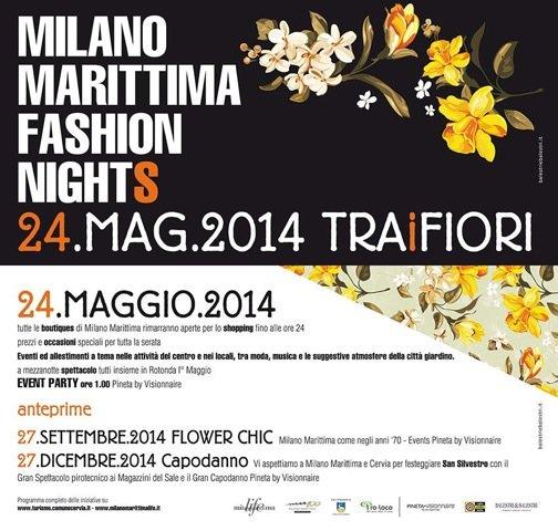 Milano Marittima: Sabato 24 maggio Fashion Night a tema floreale