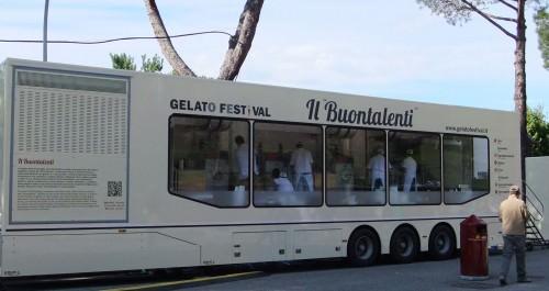 Gelato festival camion