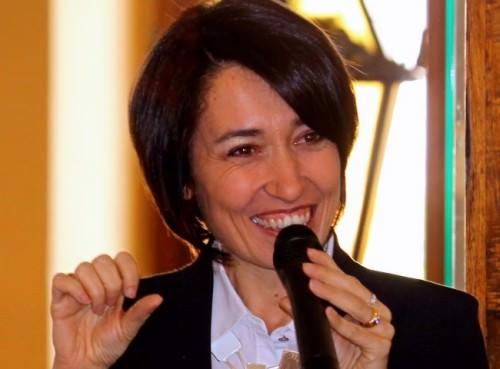La dott.ssa Chiara Manzi, direttore scientifico del progetto Cucina Evolution e fondatrice di Art Joins Nutrition Academy