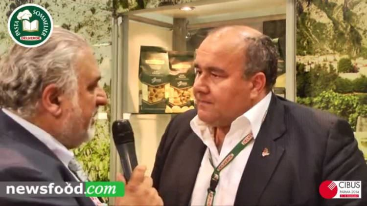 """Luca Ruffini: Delverde la pasta """"Oligominerale"""" e il packaging verde a Cibus 2014"""