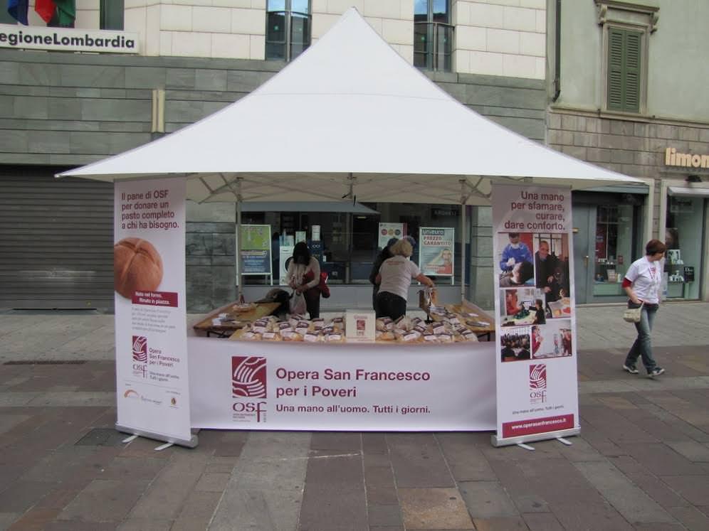 Opera San Francesco per i Poveri: Appuntamento in piazza con la sesta edizione de Il Pane di OSF