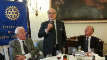 Economia immobiliare italiana: Achille Colombo Clerici al Rotary Club Milano Porta Vercellina