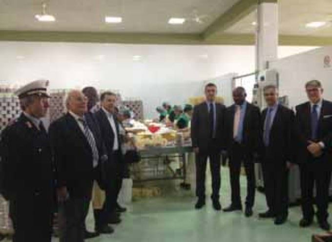 Lo Sceicco del Sultanato dell'Oman in visita in Sicilia al Distretto Produttivo della Pesca