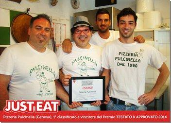 TESTATO & APPROVATO 2014 – JUST EAT: i vincitori del Premio delle consegne a domicilio