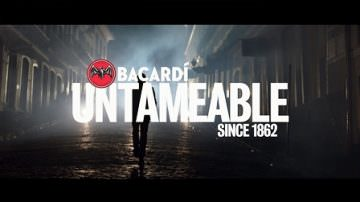 'Bacardí untameable since 1862'. Al via in Italia la campagna internazionale di marketing e comunicazione del rum Bacardí