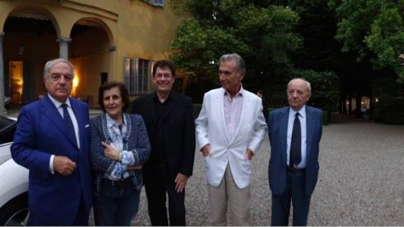 Villa Medici Giulini: saggio finale della Master Class di violino tenuta da Claude Richard
