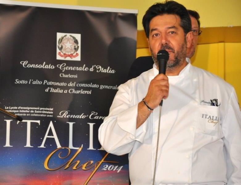 Lo Chef Renato Carati incontra a Mons i colleghi italiani e prepara la grande festa per il 2015