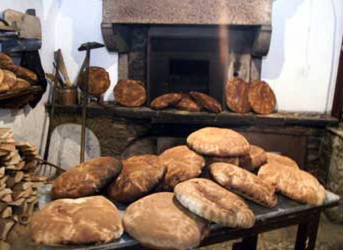 Il Pane della Salute, cotto nel Forno a Paglia, di Angelo Trilussa a Orsara di Puglia