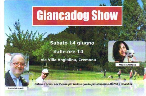 """Cremona: Edoardo Raspelli testimonial dell'evento """"Giancadog Show"""""""