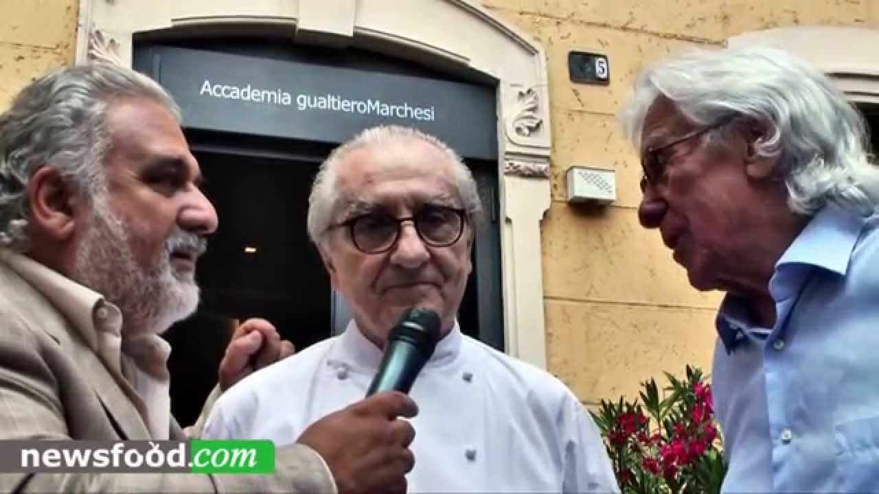 Newsfood.com: Gualtiero Marchesi è Gualtiero Marchesi. Unico!