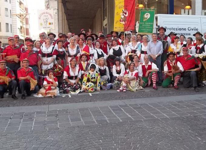 Canzo (Co) 22 giugno: raduno regionale lombardo dei gruppi folclorici affiliati alla Federazione Italiana Tradizioni Popolari