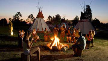 Due cuori e… una tenda indiana