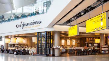 Londra: oggi, il primo Ca'Puccino della Regina  Elisabetta II al nuovo Queen's Terminal, Heathrow T2