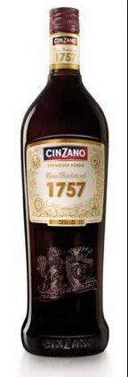 Vermouth Premium Rosso Cinzano 1757