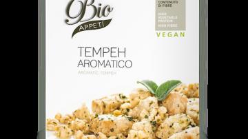 Tempeh Aromatico: un nuovo piatto pronto bio e vegano di BioAppety