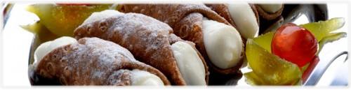 Dolci & Salati: Cannoli siciliani