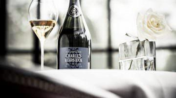 Trani, Le Lampare al Fortino: Champagne e cucina pugliese