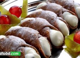 From Sicily, Dolci e Salati: aracini, panzerotti, cannoli e cassate – all tipical sicilian products