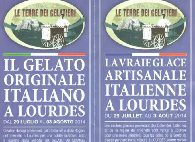Lourdes: Il gelato artigianale italiano sostiene un libro in ricordo di Georges Fernand Dunot De Saint Maclaou