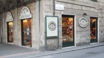 La Bottega dei fratelli Caruzzo a Genova