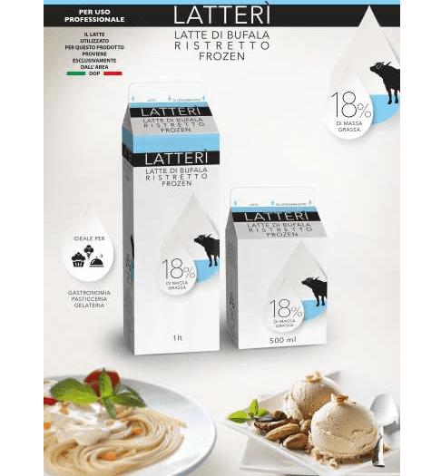 """Nasce """"LatteRì"""", il latte fresco di bufala col 50 per cento di acqua in meno"""