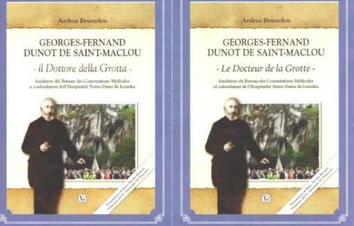 """libro in ricordo di Georges Fernand Dunot De Saint Maclaou, il """"Dottore della Grotta"""""""