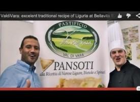 Pastificio Val di Vara: excellent traditional italian recipe of Liguria at Bellavita EXPO 2014 -London- (Interview)