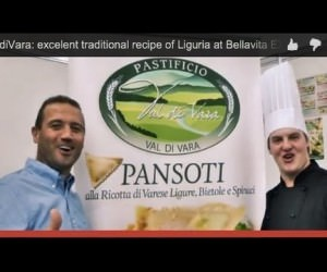 Pastificio Val di Vara: excellent traditional italian recipe of Liguria at Bellavita EXPO 2014 -London- (Interview)