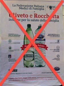 Antitrust, pubblicità ingannevole: Nuovo procedimento contro Uliveto e Rocchetta