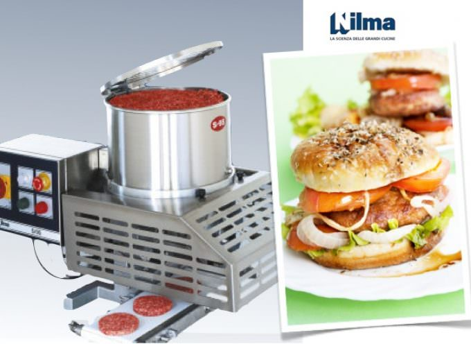 Nilma ha ideato S/95, la formatrice automatica per hamburger e polpette
