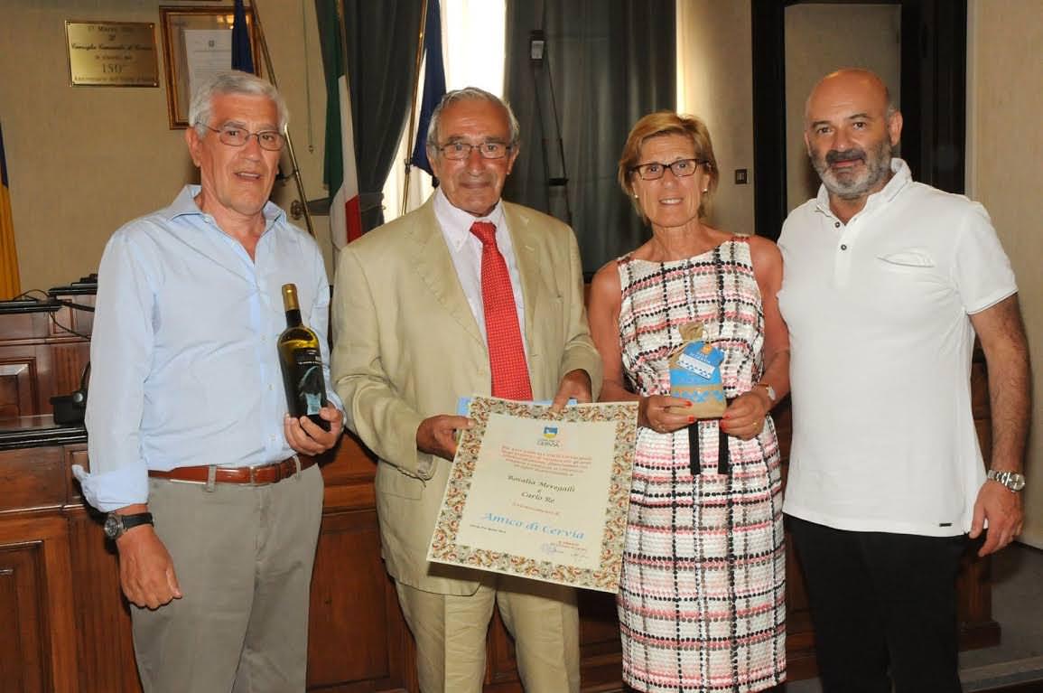 """""""Amici di Cervia"""": La città premia i turisti affezionati da almeno 10 anni consecutivi"""