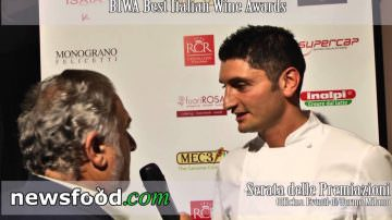 Lo Chef Andrea Aprea  al Best Italian Wine Awards 2013