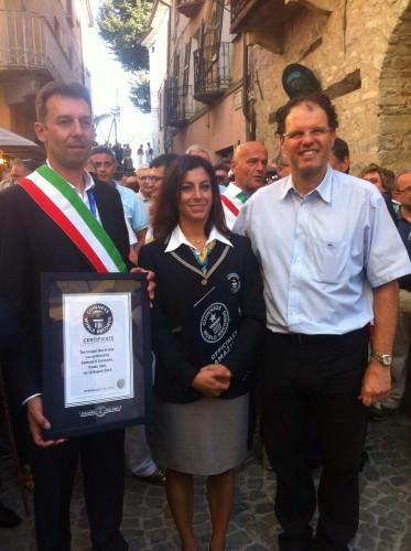 Guinness Word Record proclamazione