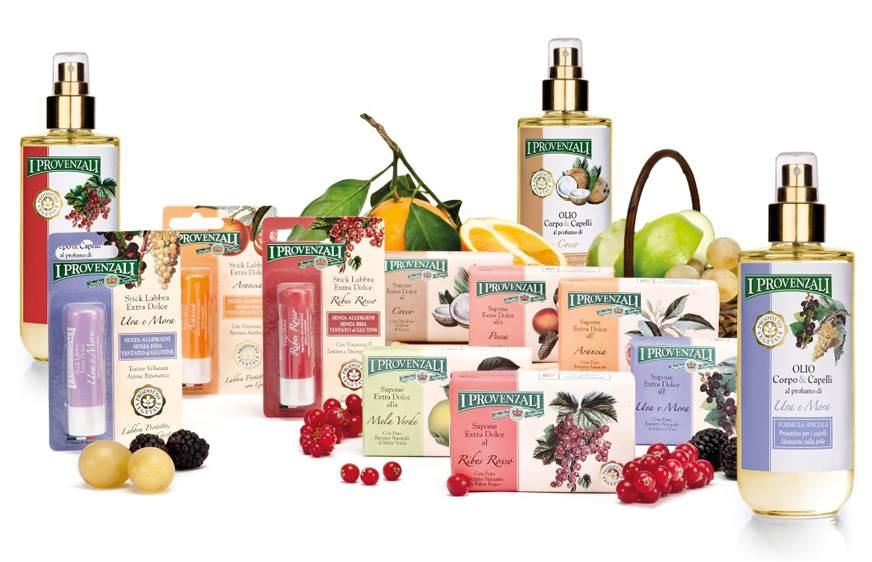 I Provenzali presenta la novità dell'estate: la nuova Linea di Oli alla Frutta