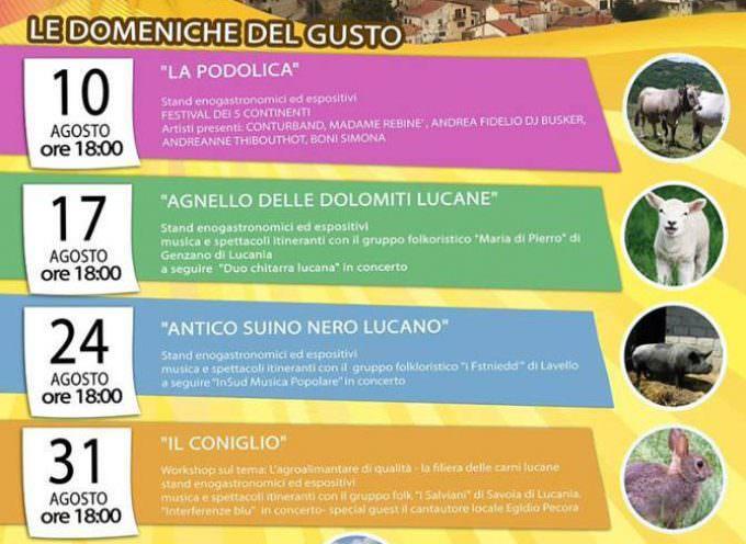 """Brindisi Montagna: Domenica 31 conclusione dell'evento """"Le domeniche del gusto"""""""