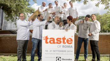 Taste of Roma 2014, un'esperienza gourmet davvero incredibile dal 18 al 21 settembre