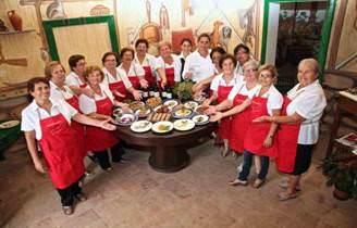 Le donne di Menfi e la grande brigata di cucina Mandrarossa