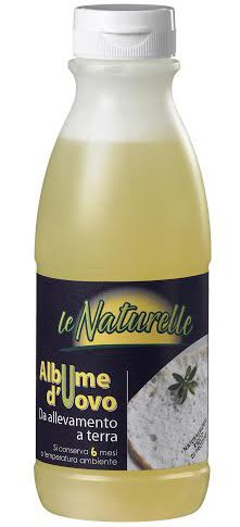 Albume d'uovo in bottiglia Le Naturelle