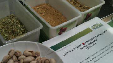 Eataly Smeraldo di Milano: Viviana Varese loves American Pistachios