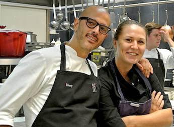 Andrea Provenzani e Marion Roger