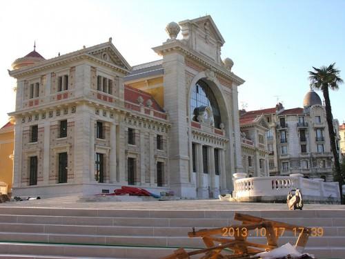 La restaurata Stazione Ferroviaria Sud di Nizza