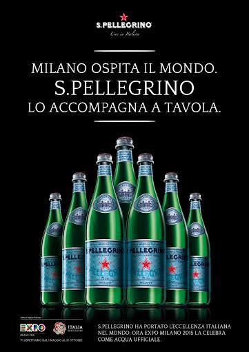 S.Pellegrino è partner ufficiale di EXPO Milano 2015 e del Padiglione Italia