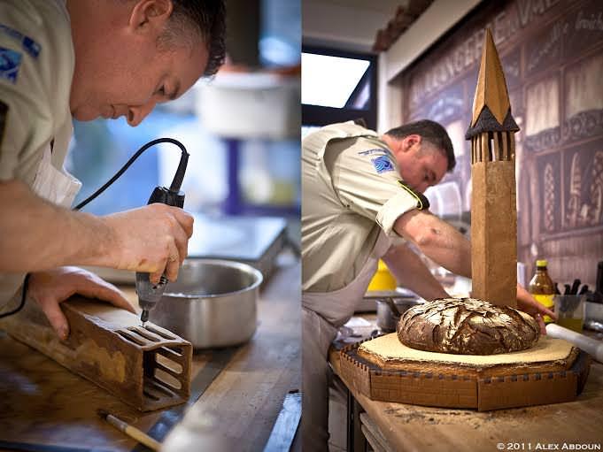 Una grande Baguette con 40 candeline per il compleanno della Grande i di Iper