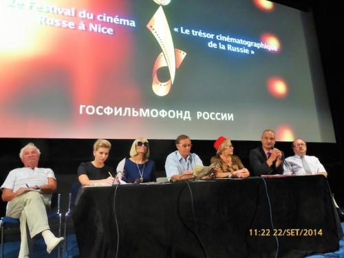 """""""Festival del Film Russo"""" Nizza, settembre 2014"""