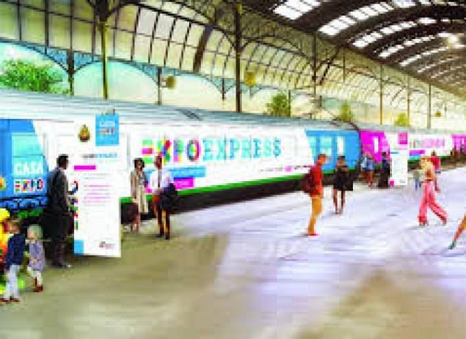 ExpoExpress: il treno che racconta le eccellenze d'Italia in 12 stazioni… una vetrina pre- Expo2015