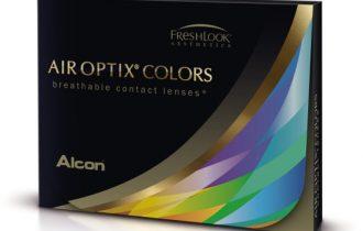 Air Optix® Colors: Nuove lenti a contatto cosmetiche plano con Collistar per uno sguardo a tutto colore