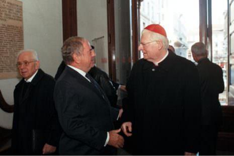 Colombo Clerici con Cardinale Scola 3