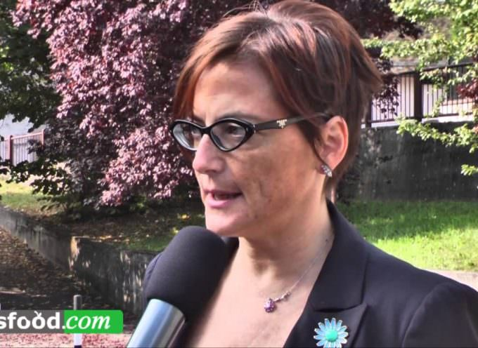 Cristina Fugatti di Cantina Roeno al Concorso Miglior Sommelier d'Italia ASPI 2014