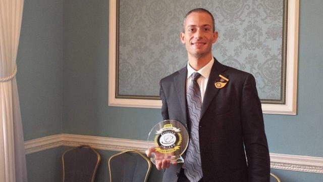 Filippo Mezzaro vince la finalissima di Londra e si laurea miglior barista italiano del 2014